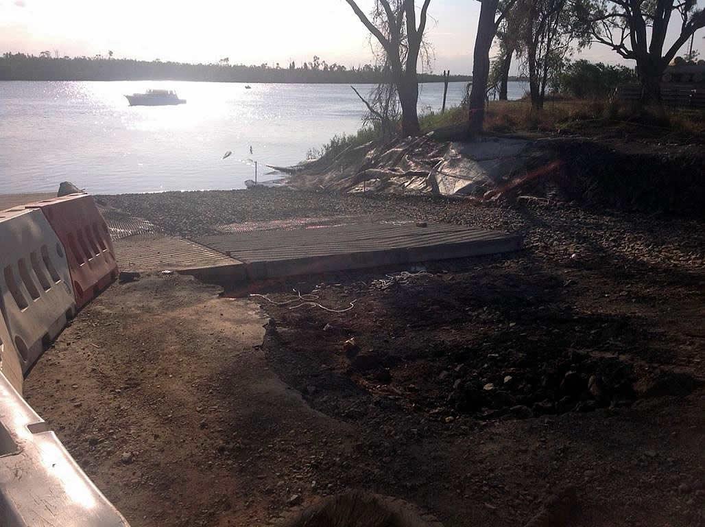 boat ramp widening nerimbera