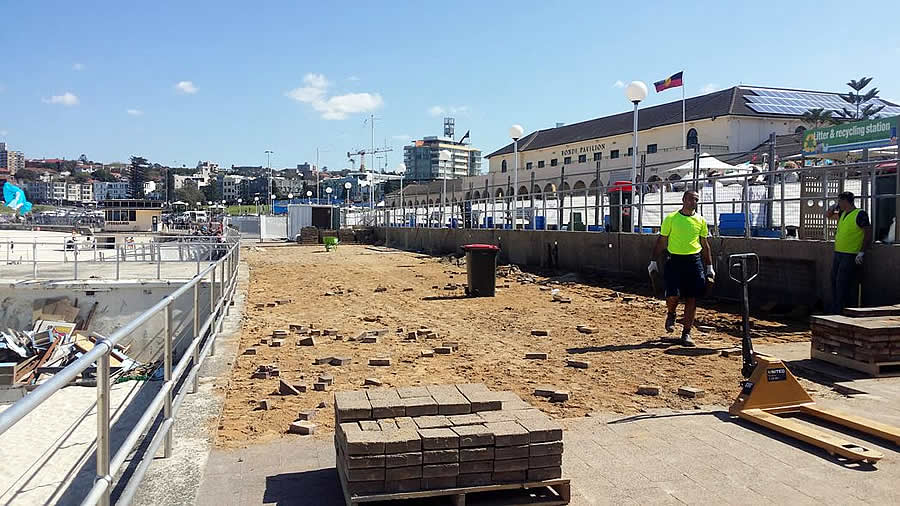 bondi beach tunnel reconstruction