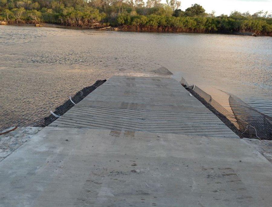 flat rock boat ramp